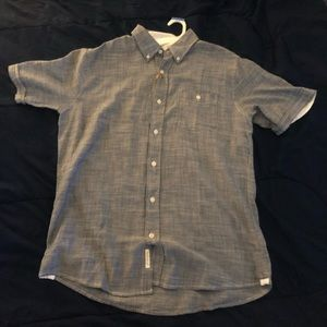 Weatherproof Vintage Button-Up Short Sleeve